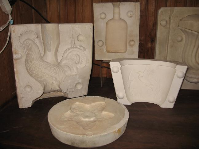 Camark Pottery Molds My Newest Collection Ashleys Finds Estate